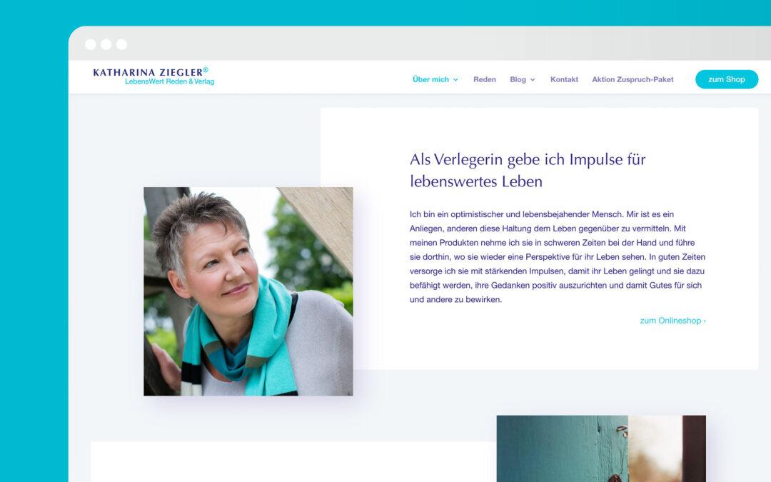 Katharina Ziegler Lebenswert Reden & Verlag